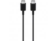 Cablu Date si Incarcare USB Type-C la USB Type-C Samsung EP-DA905BBE, 1 m, Negru, Bulk