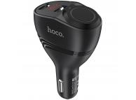 Incarcator Auto USB HOCO Z34 Thunder Power, 3.1A, cu afisaj LED si extensie bricheta auto, 2 X USB, Negru, Blister