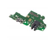 Placa Cu Conector Audio - Conector Incarcare / Date - Microfon Huawei Honor 10 Lite