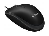 Mouse cu fir Logitech B100, Negru, Blister PMS00187