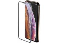 Folie Protectie Ecran Baseus pentru Apple iPhone X / Apple iPhone XS, Sticla securizata, Full Face, Full Glue, 3D, Neagra SGAPIPH58-WA01