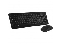 Kit tastatura si mouse Rebeltec Simplo, Negru, Blister Original