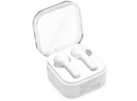 Handsfree Casti Bluetooth OEM TWS EP-002 + Husa incarcare wireless, SinglePoint, Alb, Blister