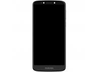 Display - Touchscreen Cu Rama Negru Motorola Moto E5 Plus