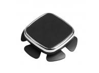 Suport Auto Universal OEM Steering Wheel Autoadeziv, Magnetic, Pentru Volan, Argintiu, Blister