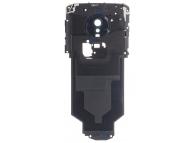 Geam Camera Spate Bleumarin cu Antena NFC Motorola Moto G6 Play