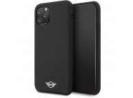 Husa TPU Mini Cooper pentru Apple iPhone 11 Pro, Neagra, Blister MIHCN58SIBK