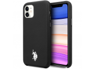 Husa TPU U.S. Polo Wrapped pentru Apple iPhone 11, Neagra, Blister USHCN61PUBK