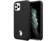 Husa TPU U.S. Polo Wrapped pentru Apple iPhone 11 Pro Max, Neagra, Blister USHCN65PUBK