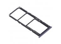 Suport Card - Suport SIM Samsung Galaxy A71 A715 Dual SIM, Bleumarin (Crush Black)