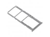 Suport Card - Suport SIM Samsung Galaxy A71 A715 Dual SIM, Argintiu