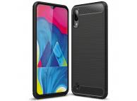 Husa TPU Forcell Carbon pentru Samsung Galaxy M10, Neagra, Bulk