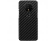 Husa OnePlus 7T, Karbon, Neagra, Blister 5431100108