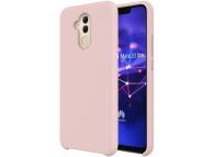 Husa TPU OEM Pure Silicone pentru Huawei Mate 20 Lite, Roz