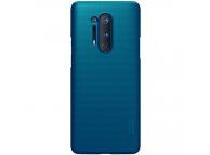 Husa Plastic Nillkin Super Frosted pentru OnePlus 8 Pro, Bleumarin, Blister