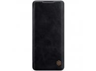 Husa Piele Nillkin Qin Book pentru OnePlus 8 Pro, Neagra, Blister