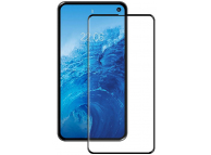 Folie Protectie Ecran OEM pentru Samsung Galaxy S10 Lite G770 /  Note 10 Lite, Sticla securizata, Full Face, Full Glue, 9D, 9H, Neagra, Blister