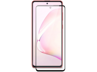 Folie Protectie Ecran OEM pentru Samsung Galaxy Note 10 Lite N770, Sticla securizata, Full Face, Full Glue, 9D, 9H, Neagra, Blister