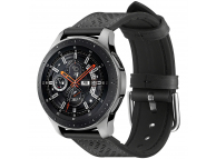 Curea Ceas Spigen Retro Fit pentru Samsung Galaxy Watch (46MM), Neagra, Blister 603MP26445