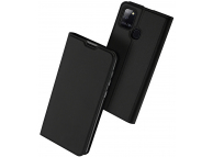 Husa Piele DUX DUCIS SKIN PRO pentru Samsung Galaxy A21s, Neagra, Blister