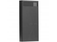 Baterie Externa Powerbank Remax Revolution RPL-58, 20000 mA, 2 x USB, Neagra, Blister