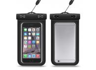Husa OEM Waterproof pentru Telefon, Dimensiuni interioare 175x105 mm, Neagra, Bulk