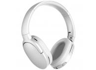 Handsfree Casti Bluetooth Baseus Encok D02, 450 mAh, SinglePoint, Alb, Blister NGD02-02
