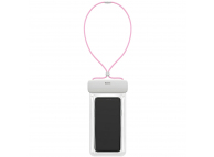 Husa TPU Baseus Universala Airbag Waterproof pentru Telefon IPX8, 7.2 inci, Roz, Blister  ACFSD-D24