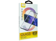 Folie Protectie Ecran OEM pentru Huawei P40 lite E, Sticla securizata, Full Face, Full Glue, 6D, Neagra