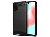Husa TPU Forcell Carbon pentru Samsung Galaxy A41, Neagra, Bulk