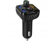 Modulator FM Bluetooth AUTO Tellur FMT-B8,Mp3 Player, Buton Apel, 2xUSB, Amplificare Bass, Negru, Blister TLL622071
