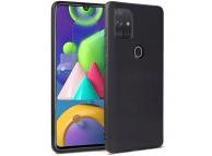 Husa TPU Tech-Protect ICON pentru Samsung Galaxy A21s, Neagra, Blister