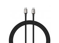 Cablu Incarcare USB Type-C la USB Type-C Baseus Zinc Magnetic 100W, 5A, 1.2 m, Negru, Blister CATXC-K01