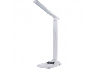 Lampa LED Maxcom LIGHT ML3000 LUX, 24 + 12 LED-uri, Incarcare Wireless + USB, Alba, Blister