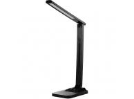 Lampa LED Maxcom LIGHT ML3000 LUX, 24 + 12 LED-uri, Incarcare Wireless + USB, Neagra, Blister