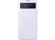 Husa TPU Samsung Galaxy Note 10 Lite N770, S View Wallet, Alba EF-EN770PWEGEU