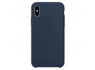 Husa TPU OEM Pure Silicone pentru Apple iPhone 6 / Apple iPhone 6s, Bleumarin, Blister