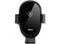 Incarcator Auto Wireless Remax SENSOR RM-C39, Quick Charge, 10W, Senzor IR, Negru, Blister