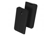 Husa Piele DUX DUCIS Skin pentru Nokia 2.2, Neagra, Blister