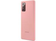 Husa TPU Samsung Galaxy Note 20 N980 / Samsung Galaxy Note 20 5G N981, Silicone Cover, Bronz EF-PN980TAEGEU