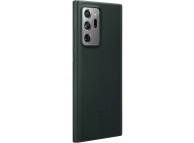 Husa Piele Samsung Galaxy Note 20 Ultra N985 / Samsung Galaxy Note 20 Ultra 5G N986, Leather Cover, Verde EF-VN985LGEGEU