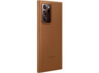 Husa Piele Samsung Galaxy Note 20 Ultra N985 / Samsung Galaxy Note 20 Ultra 5G N986, Leather Cover, Maro, Blister EF-VN985LAEGEU