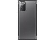 Husa Samsung Galaxy Note 20 N980 / Samsung Galaxy Note 20 5G N981, Clear Protective, Neagra EF-GN980CBEGEU