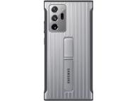 Husa Samsung Galaxy Note 20 Ultra N985 / Samsung Galaxy Note 20 Ultra 5G N986, Protective Standing Cover, Argintie, Blister EF-RN985CSEGEU