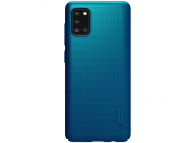 Husa Plastic Nillkin Super Frosted pentru Samsung Galaxy A31, Bleumarin