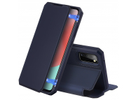 Husa Piele DUX DUCIS Skin X pentru Samsung Galaxy A41, Albastra, Blister
