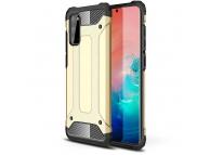 Husa Plastic - TPU OEM Tough Armor pentru Samsung Galaxy A41, Aurie, Bulk