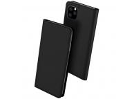 Husa Piele DUX DUCIS Skin Pro pentru Apple iPhone 11 Pro Max, Neagra, Blister