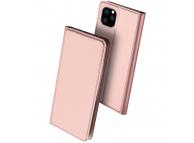 Husa Piele DUX DUCIS Skin PRO pentru Apple iPhone 11 Pro Max, Roz, Blister