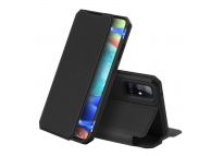 Husa Piele DUX DUCIS Skin X pentru Samsung Galaxy A71 A715, Neagra, Blister